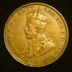1 пенни 1932 год Австралия