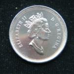 10 центов 1998 год Канада