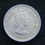 10 центов 1965 год Британский Гондурас