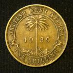 1 шиллинг 1939 год Британская Западная Африка