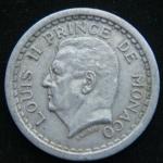2 франка 1943 год Монако