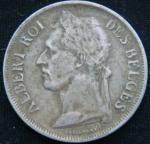 1 франк 1927 год Бельгийское Конго
