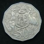 50 центов 1975 год Австралия