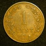 1 цент 1902 год Нидерланды