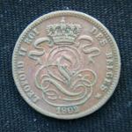 1 сантим 1902 год