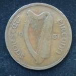 1 пенни 1931 год Ирландия