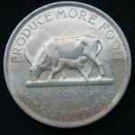 5 шиллингов 1968 год Уганда ФАО