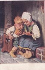 Почтовая карточка Дети