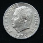 20 сантимов 1972 год Гаити ФАО
