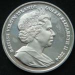 1 доллар 2004 год Британские Виргинские остров 60 лет Высадке в Нормандии - Флота