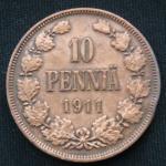 10 пенни 1911 год