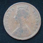 1\4 Анны Британская Индия 1889 год