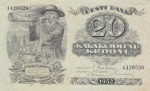 20 крон 1932 год Эстония