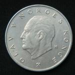 5 крон 1977 год  Норвегия