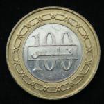 100 филсов 2010 год Бахрейн