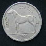 1\2 кроны 1966 год Ирландия