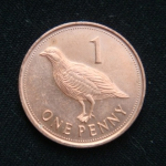 1 пенни 2013 год Гибралтар