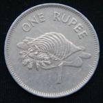 1 рупия 1982 год Сейшелы