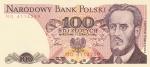 100 злотых 1986 год