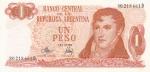 1 песо 1970-1973 год