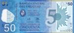 50 песо 2017 год Уругвай
