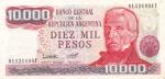 10000 песо 1976-1983 год Аргентина