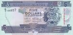 5 долларов 2004-2018 года   Соломоновы острова