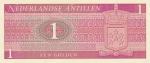 1 гульден 1970 год Нидерландские Антильские Острова