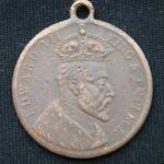 Медаль Эдуард VII 1902 год Великобритания