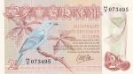2,5 гульдена 1985 года Суринам