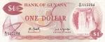 1 доллар 1966 года  Гайана