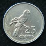 25 центов 1977 год Сейшелы