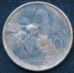 10 чентезимо 1932 год Италия