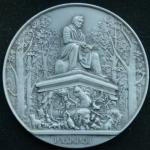 Медаль. Скульптура Летнего сада. Ленинград. И.А. Крылов.