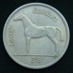 1\2 кроны 1962 год Ирландия