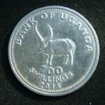 100 шиллингов 2015 год Уганда