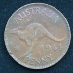 1 пенни 1944 год