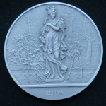 Медаль  Скульптура Летнего сада. Церера