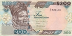 200 найра 2017 года Нигерия