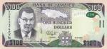 100 долларов 2016 года Ямайка