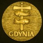 Медаль Гдыня Польша