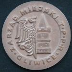 Медаль Польша Городской совет GLIWICE