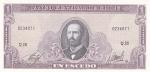 1 песо 1962 год Чили