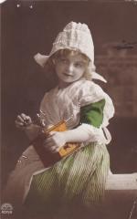 Почтовая карточка  1916 год