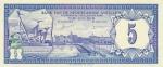 5 Гульденов 1980 год Нидерландские Антильские острова