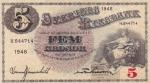 5 крон 1946 год