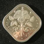 15 центов 1974 год Багамы