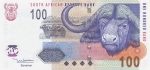 100 рэндов 2005 год ЮАР