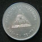 1 кордоба 2007 год Никарагуа