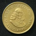 1 цент 1964 год ЮАР